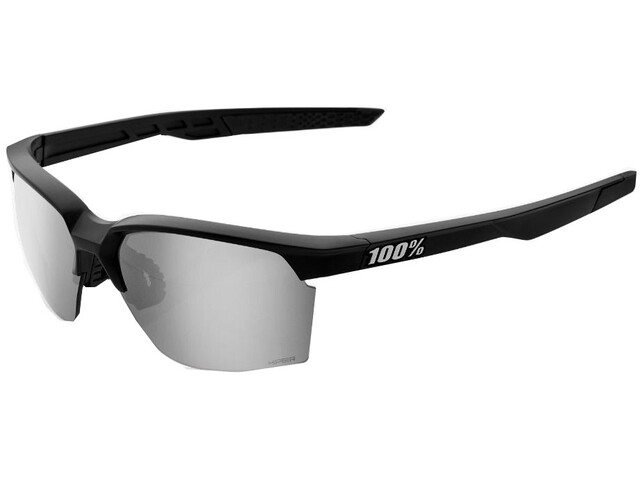 100% Sportcoupe Hiper Multilayer Mirror Glasses matte black